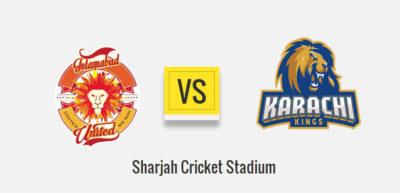Islamabad United Vs Karachi Kings 1