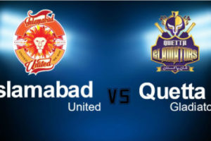 Islamabad United Vs Quetta Gladiators