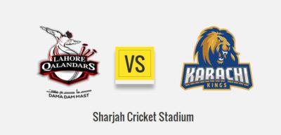 Lahore Qalandars Vs Karachi Kings 1