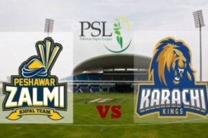 Peshawar Zalmi Vs.Karachi Kings 1