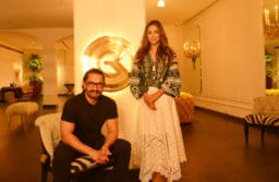 Aamir Khan Visits Gauri Khan Designs