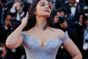 Aishwarya at Cannes 2017