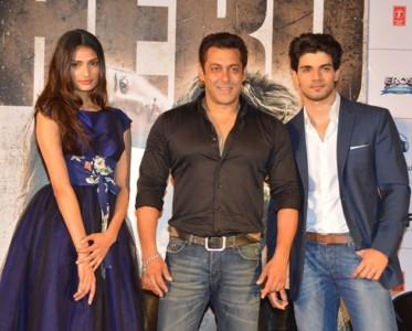 Athiya Shetty Salman Khan and Sooraj Pancholi