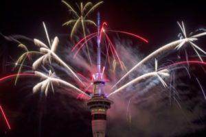 New Zealanders Celebrate New Years Eve 2016