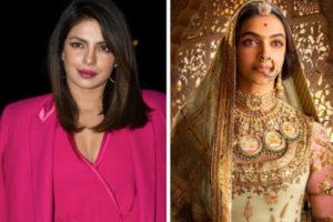 Priyanka Chopra speaks up on Padmavati controversy