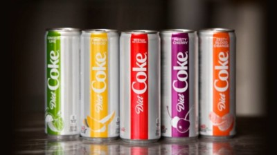 Diet coke flavours