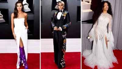 Grammys top dresses