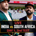 India v south 3rd test