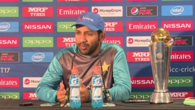 Pakistan Captain Sarfraz Ahmed Talks To Press