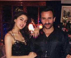 Sara Ali Khan with dad Saif Ali