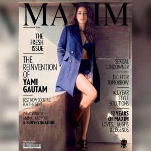 Yami Gautam is January 2018 cover girl 1