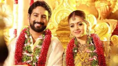 bhavana wedding main