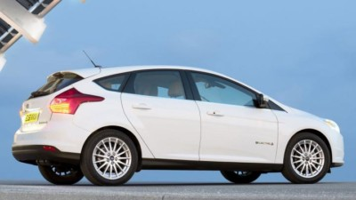 ford focus electric rear
