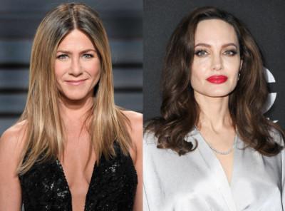jennifer Aniston Angelina Jolie 1 18