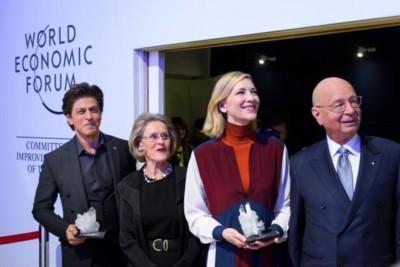 shahrukh Khan Davos