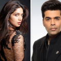 Bhumi Pednekar and Karan Johar