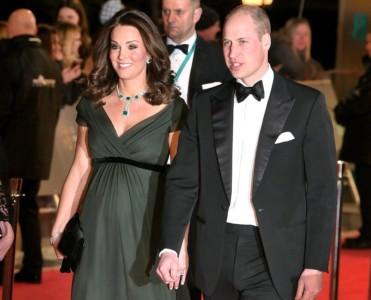 Prince William Kate Middleton BAFTA Awards 2018