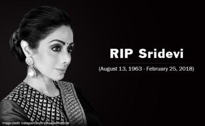Sridevi Death Funeral Live Updates