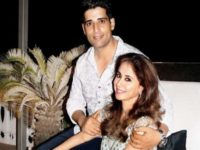 Urmila Matondkar with Husband