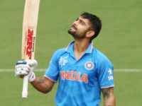 Virat Kohli of India celebrate
