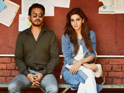 Irrfan Khan and Saba Qamar in Hindi Medium