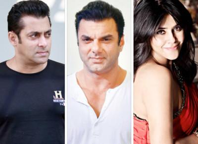 Salman Khan Sohail Khan upset with Ekta Kapoo