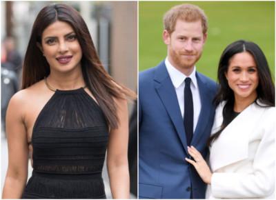 Priyanka Chopra Prince Harry and Meghan Markle