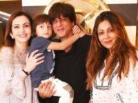 Shah Rukh Khan AbRam Khan Bollyworm