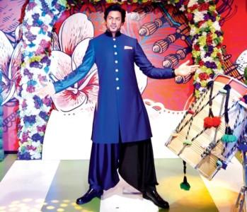 Shah Rukh waxed