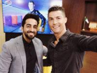 Ayushmann Khurrana meets Cristiano Ronaldo