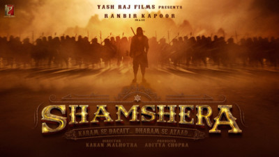 FIRST LOOK Ranbir Kapoor in Yash Raj Films Shamshera