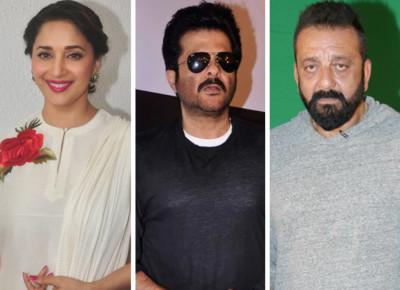 Madhuri Dixit Anil Kapoor Sanjay Dutt in Kalank