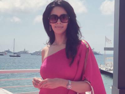 Mallika pink Cannes