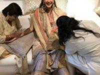 Sonam Kapoor mehendi 1
