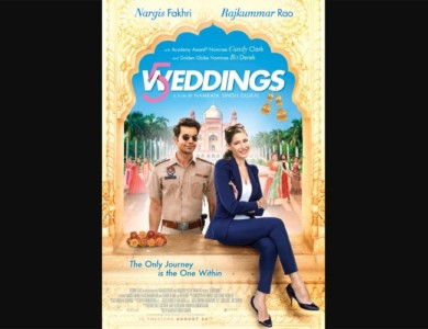 five weddings poster