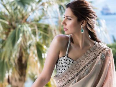 mahira beige dress