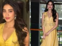 Janhvi Kapoor Kick-Starts Dhadak Promotions in this Bright Outfit!