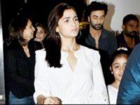 Alia Bhatt bonds with Ranbir Kapoor's family over dinner