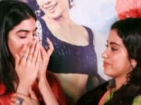 Janhvi-Khushi miss Sridevi at Dhadak trailer launch, share emotional hug