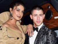 Priyanka Chopra arm in arm with Nick Jonas