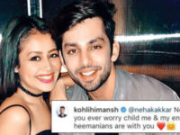 Neha Kakkar and her alleged Boyfriend Himansh Kohli replies to People Who Mocked Her