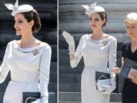 Angelina Jolie Looks Royal In Her Latest Appearance In London
