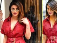 Priyanka Chopra Is Setting Some Great Fashion Goals In Her Red Outfit