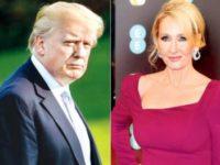 Author JK Rowling Roars At Donald Trump, Again!