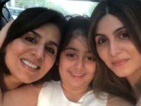 Neetu Kapoor Celebrates Her Birthday In Paris With Ranbir, Riddhiima And Lil Samara