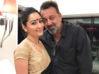 Sanjay Dutt takes a short family vacation before joining his Prasthaanam shoot