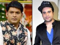 Krushna Abhishek handing his support to Kapil Sharma asking if he wants to perform together