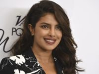 Priyanka Chopra arrives at Variety's Power of Women Luncheon at the Beverly Wilshire hotel on Friday, Oct. 13, 2017, in Beverly Hills, Calif. (Photo by Jordan Strauss/Invision/AP)
