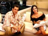 Share Khan Hina Meets Dabangg Khan Salman On The Sets Of Bigg Boss 12