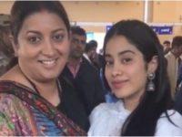 Aunty Mat Kaho Na! – Janhvi Kapoor Calls Smriti Irani 'Aunty' and Her Reaction is Epic